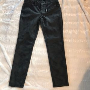 🆕Express Faux Leather Jeans 4R